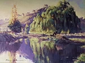 Afternoon Sparkle, Acrylic on canvas, 1060 x 760