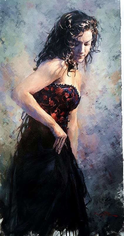 Barry McCann - Black Dress