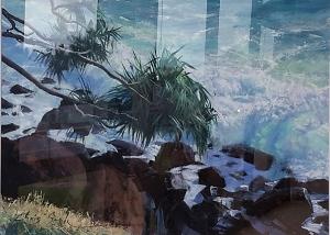 Burleigh Study, 1090 x 840, Acrylic