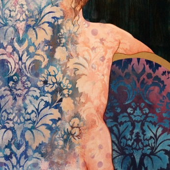Steve Hillier and Susan Skuse |Private Thoughts #2 | Mixed media | 550 x 430 framed |$450