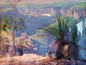 Chris Seale, Native Grass Trees, Acrylic, 1340 x 1100, $5,000