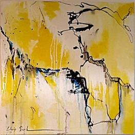 Chris Seale, Winding River, Acrylic, 760 x 760