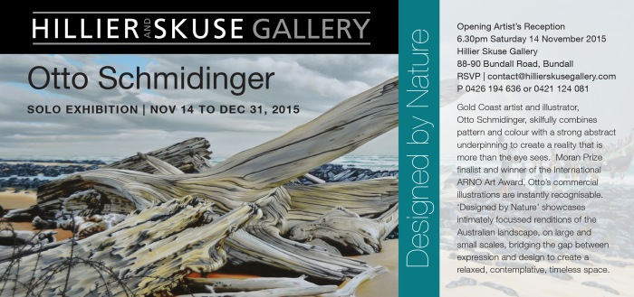 Otto Schmidinger, Designed by Nature, Nov. 14 to Dec. 30, 2015