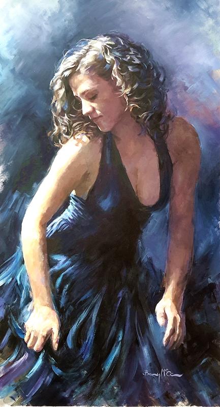Barry McCann - Blue Dress
