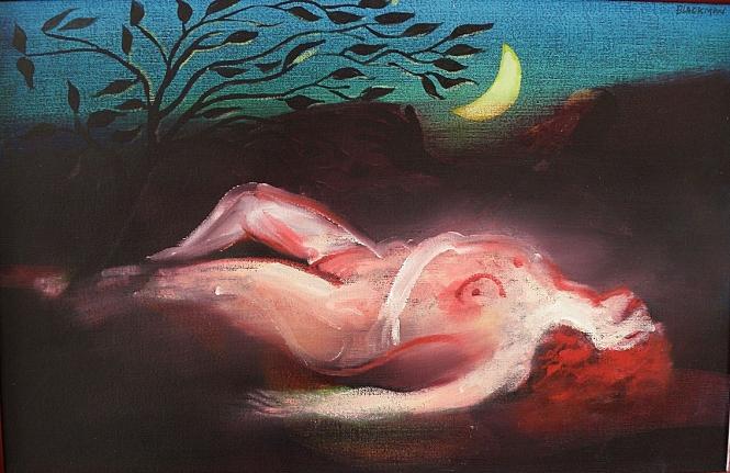 Blackman Half Moon Nude