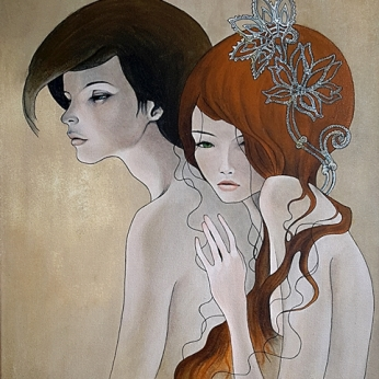 Steve Hillier | Personal Perogative | Oil on canvas | $500