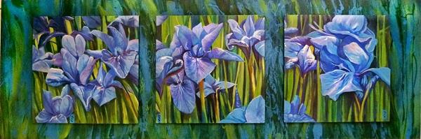 Irises triptych.web