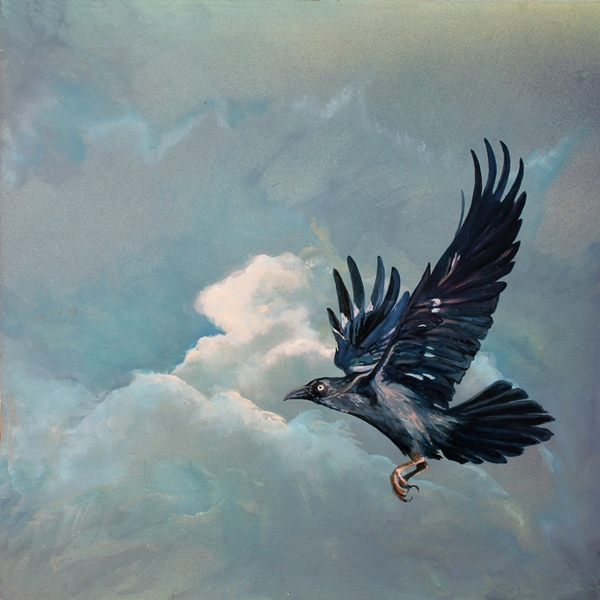The Art of Riding on the Wind No.12 crow.web