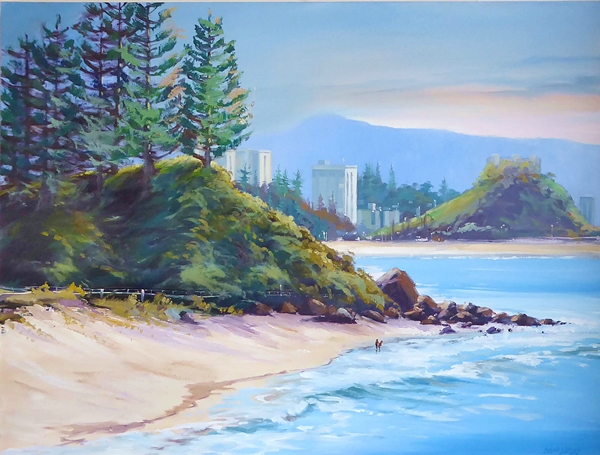 Ladley Coolangatta 75 x 100 Oil $695