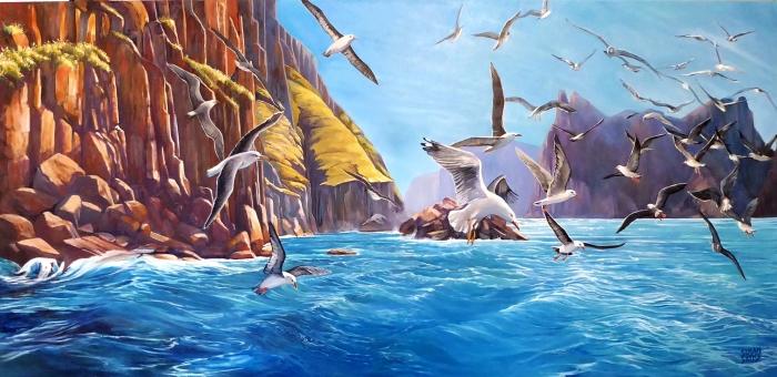 A Fine Afternoon for Fishing - Tasman Peninsula cu3