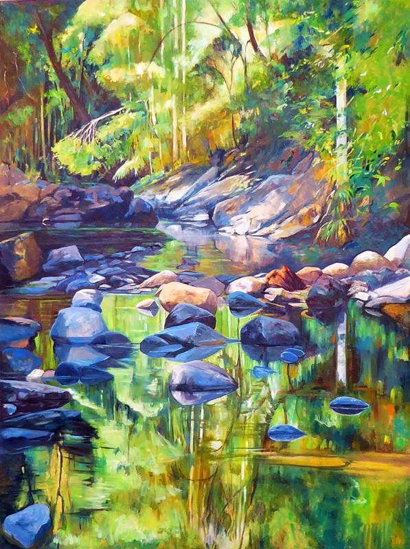 Skuse_Susan_Meditation on a Small Stream.web