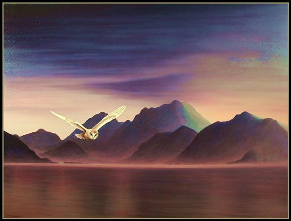 Strathgordon dawn framed.web