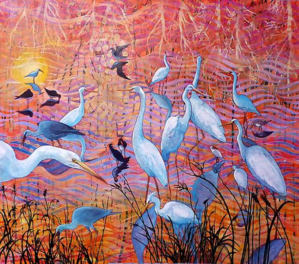 Wetlands sunset.web