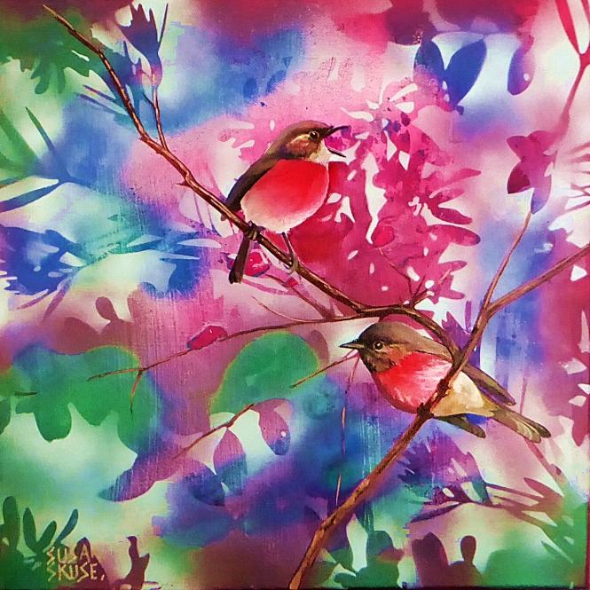 Rockin Robin #1 - Rose Robin