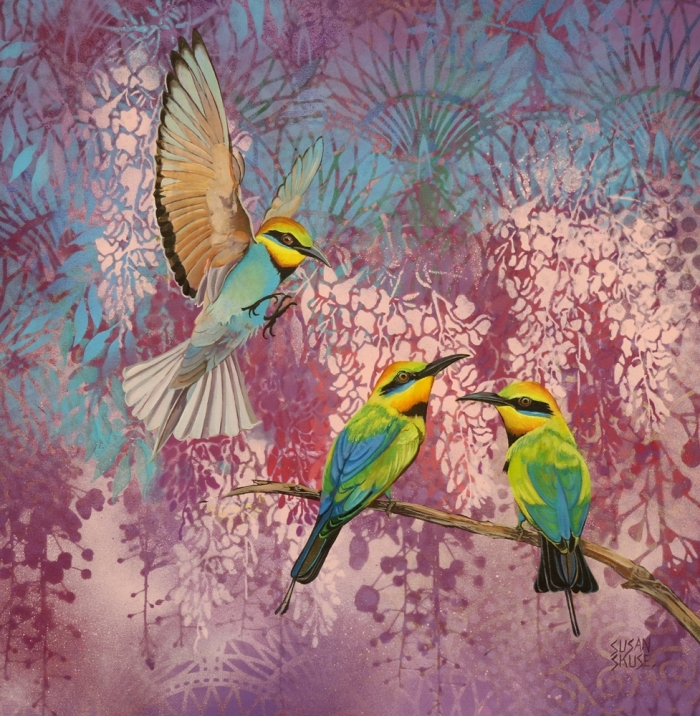 Deco bee eaters